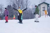 3 Snowboarding Youths